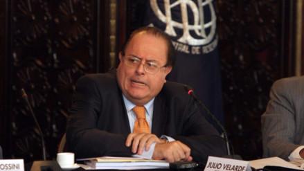 Julio Velarde: