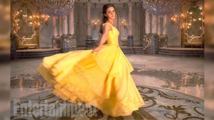 """Lanzan nuevas imágenes de """"La Bella y la Bestia"""" con Emma Watson"""