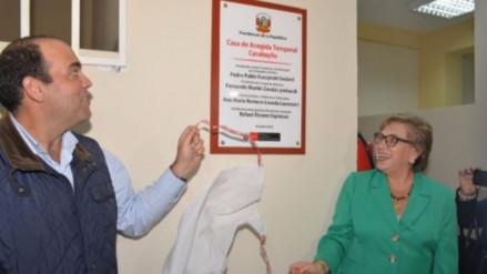 Gobierno inaugura dos casas para recibir a mujeres víctimas de violencia