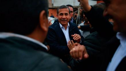 Reprograman interrogatorio a expresidente Humala por caso Gasoducto Sur