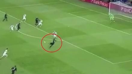 Gareth Bale anotó golazo de volea a los 56 segundos