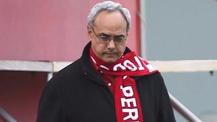 Extradición de Manuel Burga con fecha incierta