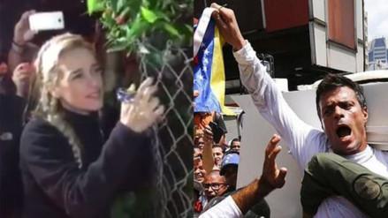 Twitter: Leopoldo López y el grito que confirmó que sigue vivo
