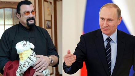 Vladimir Putin concede la ciudadanía rusa al actor estadounidense Steven Seagal