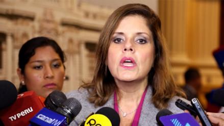 """Mercedes Araóz sobre Cantagallo: """"No es el momento para entrar en el debate"""""""