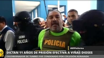 Condenan a 11 años de prisión a expresidente regional de Tumbes