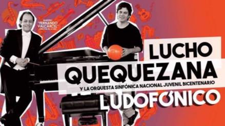 """Lucho Quequezana regresa con """"Ludofónico"""""""