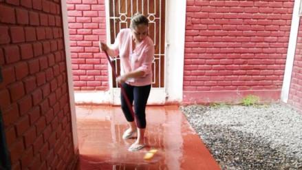 Continúa colapso de desagües en diversos puntos de Chiclayo