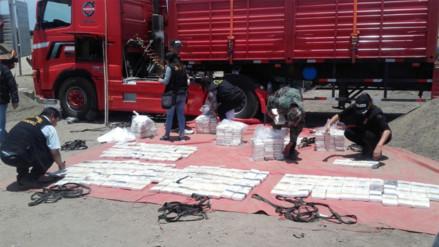 Media tonelada de cocaína incautada y 13 detenidos deja operativo en Pisco