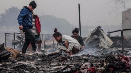 Un niño tiene el 55 % del cuerpo con quemaduras por incendio en Cantagallo