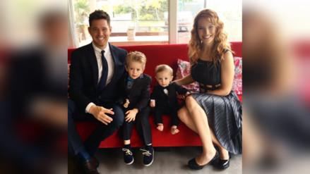 Facebook: Michael Bublé y Luisana Lopilato revelan que su hijo de 3 años tiene cáncer