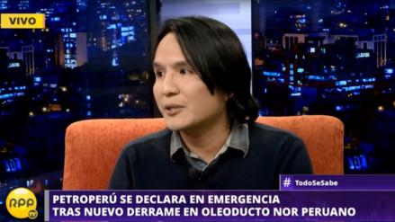 """Experto sobre derrame de petróleo en Loreto: """"Es una emergencia estructural"""""""