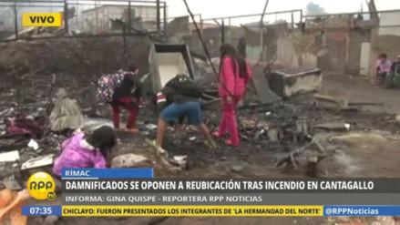 Los shipibos de Cantagallo se oponen a ser reubicados