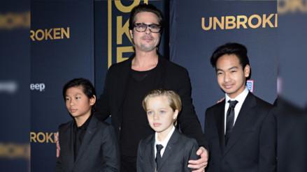 Brad Pitt también lucha por la custodia de sus hijos