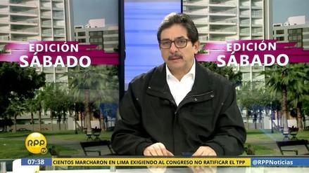 """Cornejo: """"Castañeda pretende desvincularse de la desgracia en Cantagallo"""""""