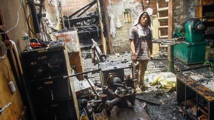 Vecinos de Cantagallo denunciaron robos y falta de ayuda tras el incendio