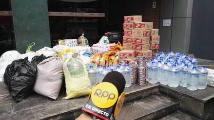 Inició el acopio de donaciones en RPP para los afectados por el incendio en Cantagallo