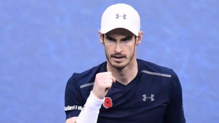 Andy Murray alcanza el número 1 mundial sin jugar en el Masters de París-Bercy