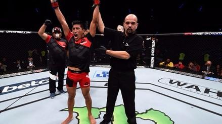 Victoria contundente de Enrique Barzola sobre Chris Avila en UFC Fight Night 98