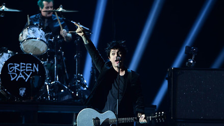 MTV EMA: Green Day recibió premio como