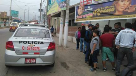 Delincuentes acribillaron a joven que ingresaba a bar de Cañete