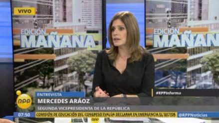 """Mercedes Aráoz: """"El estilo de Ollanta Humala fue atacar y no resolver nada"""""""