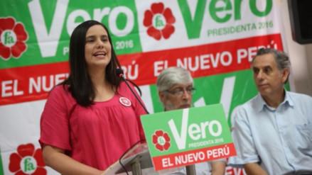 Verónika Mendoza tiene la intención de ser candidata en el 2021