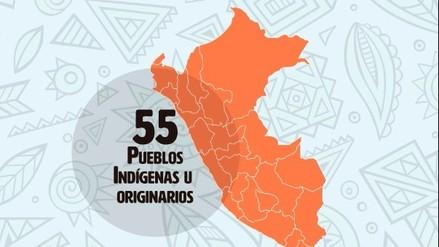 Conoce el mapa de los pueblos indígenas u originarios del Perú