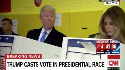 Twitter: Donald Trump y su 'desconfianza' quedaron retratados en una foto viral