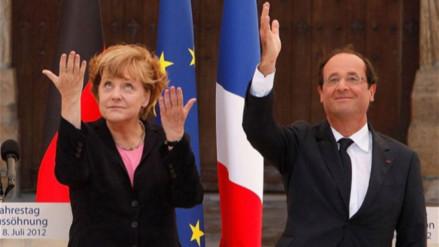 Angela Merkel y François Hollande respaldan a Hillary Clinton