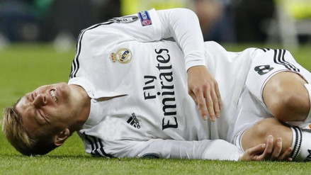Pérdida sensible: Toni Kroos será baja en el Real Madrid por casi 2 meses