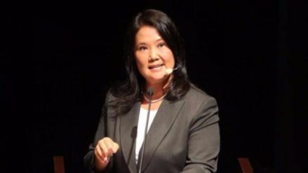 Fiscalía reprogramó interrogatorio a Keiko Fujimori para el jueves