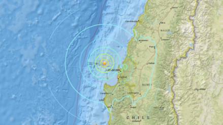 Diez sismos remecieron cuatro regiones del sur de Chile