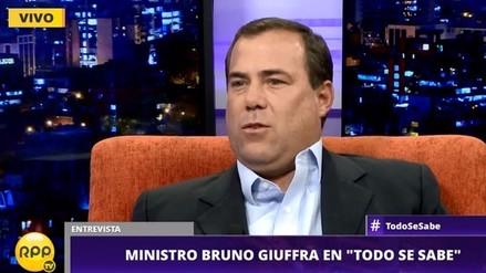 Ministro Bruno Giuffra anuncia plan agresivo para digitalizar a las pymes