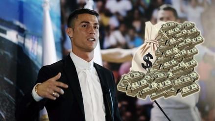 Revelan el nuevo sueldo de Cristiano Ronaldo en el Real Madrid