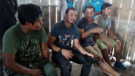 Loreto: nativos retienen  a cuatro marinos en Saramurillo