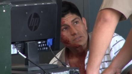 Chiclayo: acosador de niña fue golpeado por padre de familia