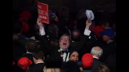Así recibieron republicanos y demócratas los resultados electorales en EE.UU.