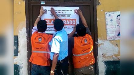 Trujillo: cierran negocios por inseguros