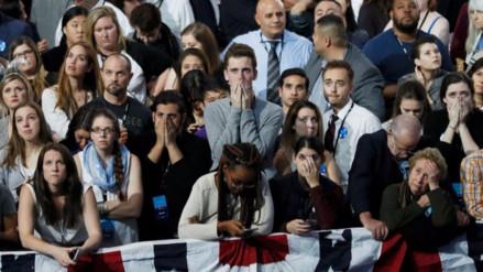 El pesimismo invade el fortín demócrata a la espera de los resultados finales