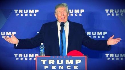 Donald Trump es el presidente número 45 de los Estados Unidos
