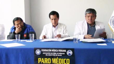 Junín: médicos en paro exigen oficinas de Control Interno contra la corrupción