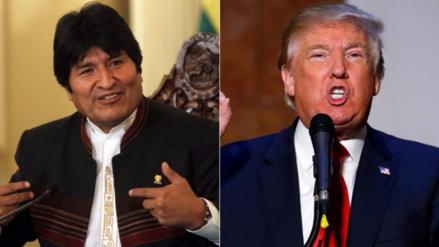 Evo Morales le pidió a Donald Trump