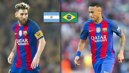 Messi vs. Neymar: Barcelona compartió video previo al duelo por Eliminatorias