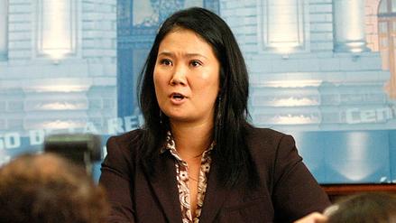 Keiko Fujimori declaró que no es responsable de las finanzas de Fuerza Popular