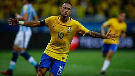 Neymar llegó a los 50 goles con camiseta de Brasil