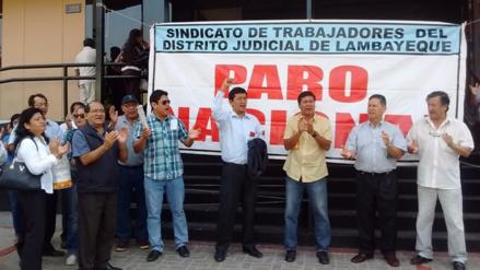 Trabajadores judiciales retomarán medidas de lucha con una huelga indefinida