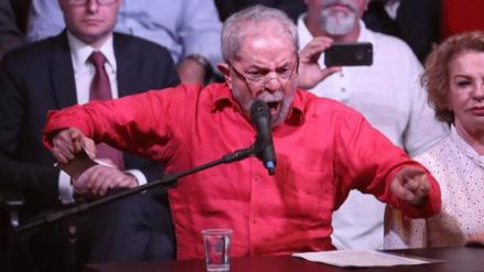 """Lula da Silva: """"Hay un pacto casi diabólico contra mí"""""""