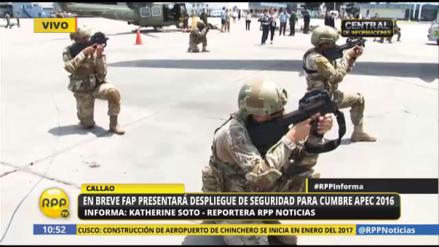 La Fuerza Aérea del Perú está lista para dar seguridad en la Cumbre APEC 2016