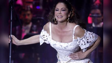 Isabel Pantoja regresó a los escenarios con